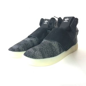 Adidas Tubular Invader Black Strap 10 Sneakers